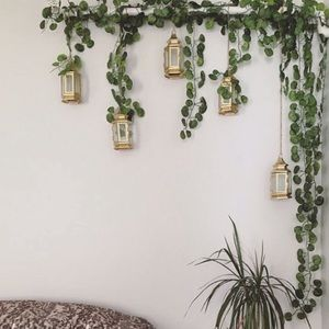 💕UO Hanging Ivy Leaves Plant Vines New 💕